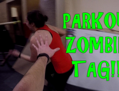 Parkour Game – Zombie Tag!