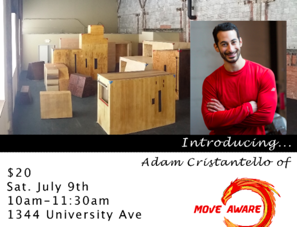 Mindfulness Collaborative Workshop – Introducing Adam Cristantello of Move Aware